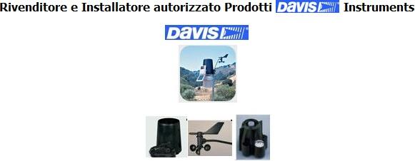 Rivenditore e installatore autorizzato prodotti Davis